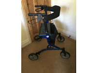 Four Wheel Seated Zoom Rollator