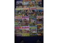 17 HOME BUILDING/SELF BUILD/RENOVATING MAGAZINES 1990/2000's-GOOD USED-COLLECT BENFLEET
