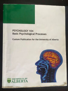 Psychology 104 UofA textbook