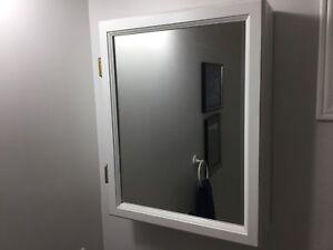 """Mirrored Medicine Cabinet 16"""" x 20"""""""