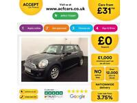 MINI COOPER 1.2 1.5 2.0 S D SEVEN ONE COUPE CHILLI PACK FROM £31 PER WEEK!