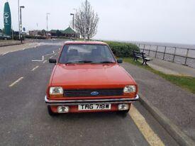 MK1 Fiesta L 1981 1 owner