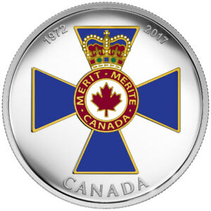 2017 $20 Fine Silver Coin - Canadian Honours