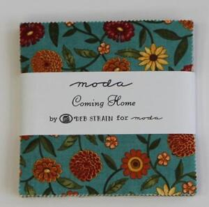 Moda Charm Pack - Coming Home. . . Premium Quilting Fabric
