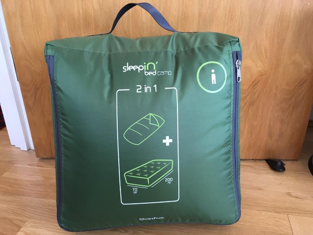 Quechua sleepin'bed New sleeping bag airbed single