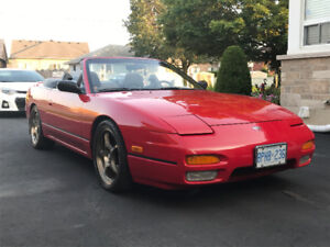 1993 Nissan 240SX SE limited edition Convertible
