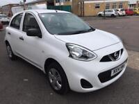 2014/14 Reg Nissan Micra Visia 1.2 Petrol Low Mileage Car 3 Month Warranty Finance Available £4499