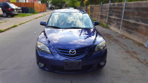 2006 MAZDA 3 GT E-TESTED LOW KM.