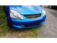 Honda civic type r type s headlights