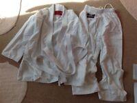 Karate suit -child size 140cm vgc