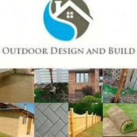 Outdoor Design and Build is on the job!