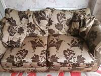 Dfs 2x Two seater sofas