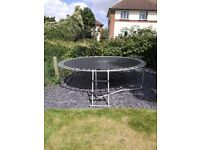 10ft Plum Trampoline, Ladder and cover