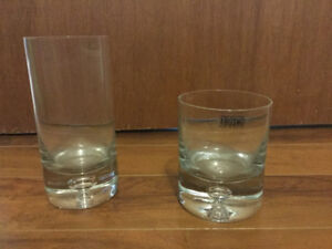 Beautiful and rare Krosno glasses for sale