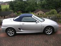 MGTF 2003 1.8 Six speed Automatic, Sport and Steering wheel shifts
