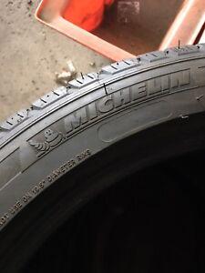 19inch Michelin latitude touring tires all season. $100