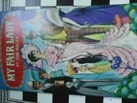 Old my fair lady dressing doll