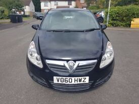 Vauxhall Corsa 2011, 1.3 CDTi Diesel Exclusive ECO FLEX Manual 3dr Black