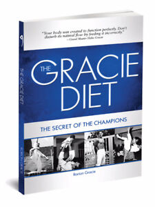 The Gracie Diet Book signed by Rorion Gracie
