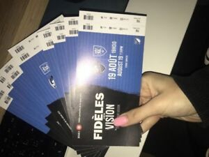 Montreal Impact 8 tickets Aug 19th vs Real Salt Lake / ticket$60