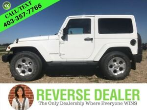 2014 Jeep Wrangler Sahara  Hard  Soft Top, Navigation, 6-Speed M