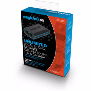 MagicJack GO VOIP Adapter Digital Phone Service - Includes 12 mo