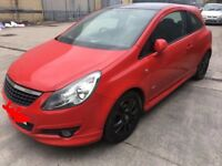 2008 VAUXHALL CORSA 1.3 CDTI LIMITED EDITION SPARES OR REPAIRS