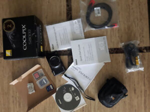 2 Digital cameras & equipment -Nikon Coolpix, Canon +hp printer