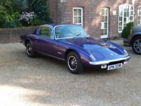 Unique Lotus Elan +2 S130. Motor Show Stand Car from 1973 - lovingly restored and needs a new home