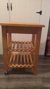 Kitchen cart/îlot/desserte (Ikea)