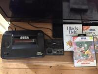Sega master system with games Alex Kidd built in