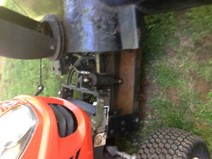 Snowblower for garden mower/small tractor