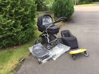 Mamas and Papas city scape travel system