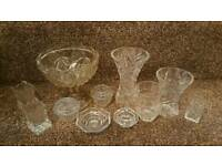 Job lot of glassware