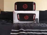 Beats by DRE Portable Beatbox Black Speaker. Bluetooth and Apple Compatible.
