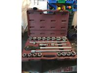 Franking socket set