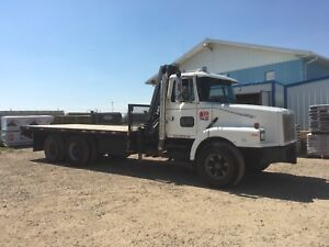 1991 tandem Volvo with Hiab 140 *reduced price*