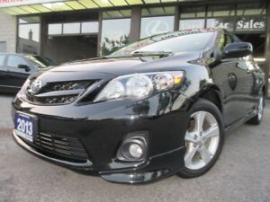 2013 Toyota Corolla S-NAVIGATION-LEATHER-SUNROOF-BLUETOOTH