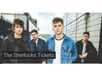 The Sherlocks Tickets. 23rd Sept 2017 Sheffield. 3 x Tickets £45 total.