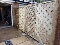 Lincoln fence panels