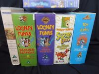 Job lot of 27 assorted videos for £10 Inc some excellent childrens Videos Tom & Jerry & Looney Tunes