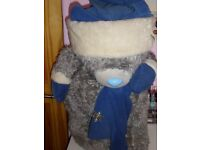 Huge me to you tatty teddy bear 62cm tall like new with tag