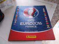 UEFA EURO 2016 FRANCE OFFICIAL STICKER ALBUM