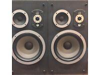 Wharfedale Laser100 speakers