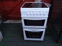 indesit ceramic electric cooker 50 cm