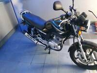 YAMAHA 125CC ONLY 50 MILES MUST READ