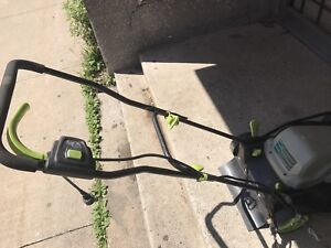 Lawnmaster 18 inch electric lawnmower. $75