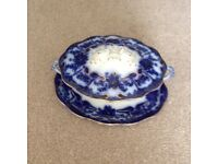 Pountney Serving Dish with Lid & Standing Plate