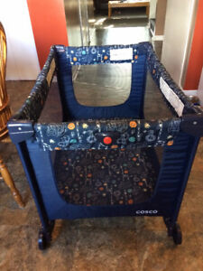 Playpen, Folds, Great Anywhere,Mesh Sides $45