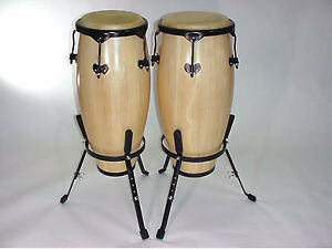 Conga drum sets $ 199.99* and $ 379.99* (NEW!) with stands